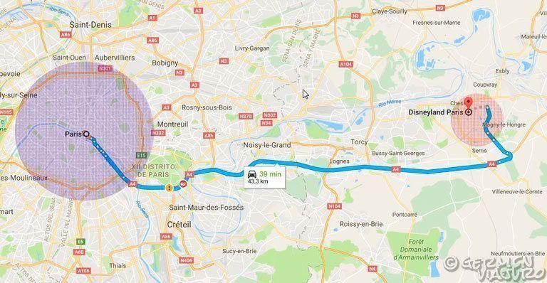 Mega gu a de disneyland paris c mo organizar el viaje por for Como llegar de barcelona a paris