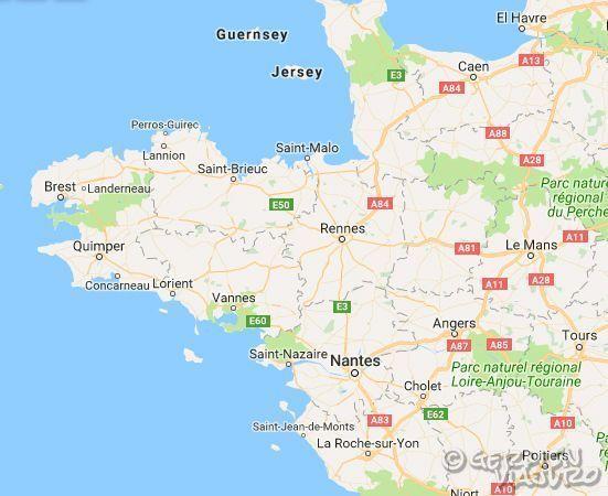 Bretaña Y Normandia Mapa.Guia Practica Para Visitar El Mont Saint Michel Road Trip