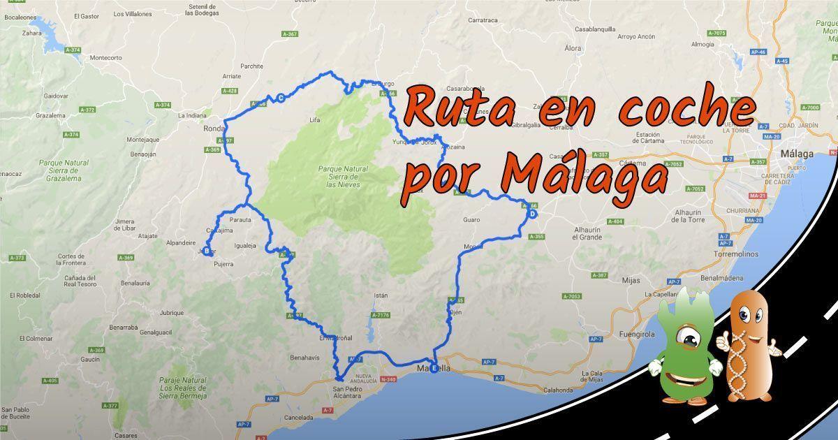 Ruta En Coche Por Malaga Provincia Germen Viajero