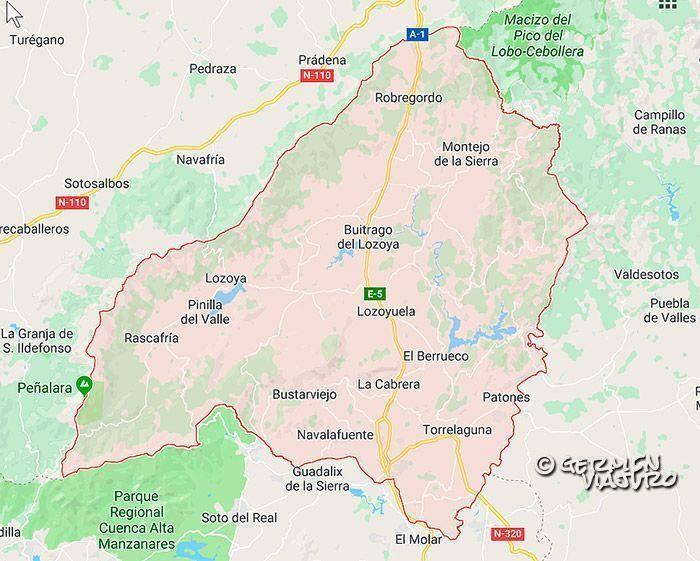 Municipios De Madrid Mapa.Pueblos Cerca De Madrid Desconecta En La Sierra Norte