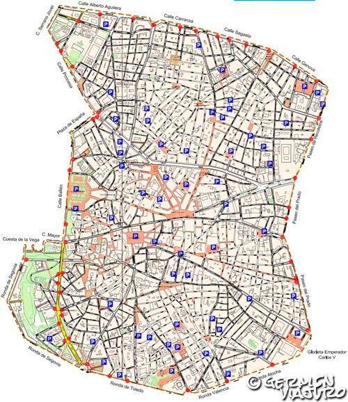 Zona Ser Madrid Mapa 2019.Zona De Madrid Central Circula Sin Que Te Multen Germen
