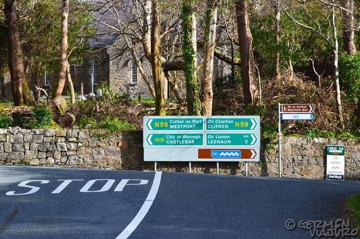 carreteras en irlanda