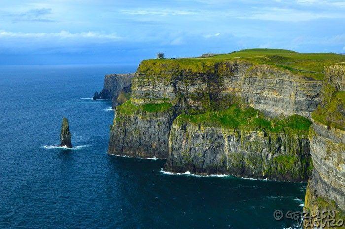acantilados en irlanda