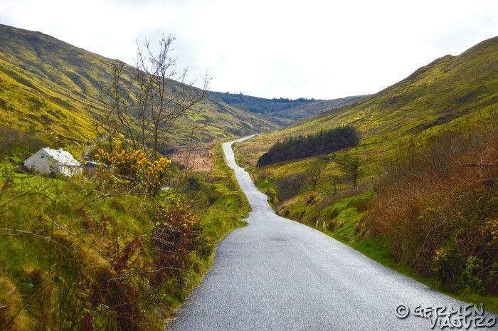 ruta en coche por irlanda