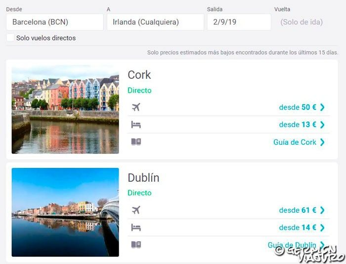 viaje a irlanda organizado