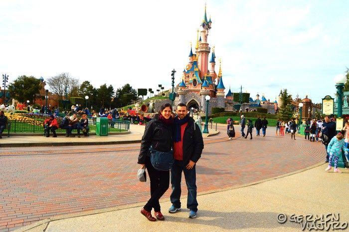 viajar en coche a Disneyland Paris