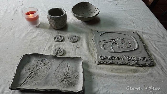 artesania en barro sayago