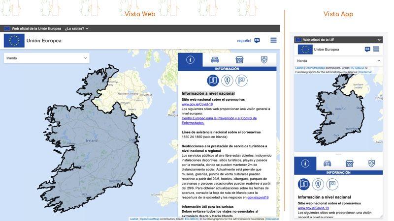 Re-open EU | Información del país seleccionado