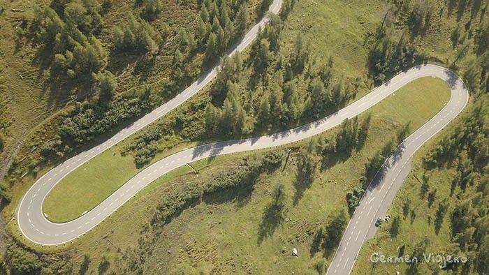 Grossglockner Hochalpenstrasse drone images
