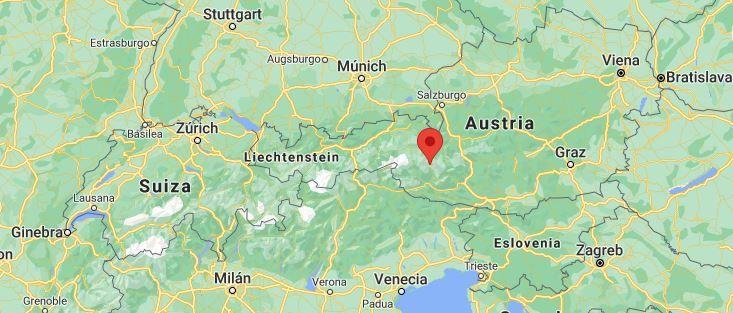 Grossglockner Hochalpenstrasse mapa