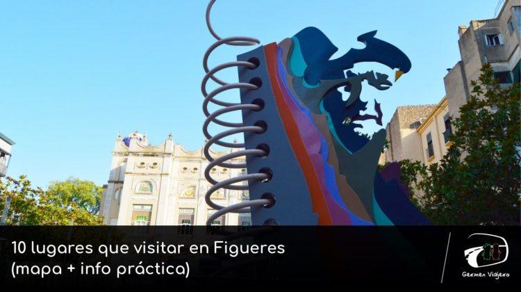 visitar Figueres (mapa + info práctica)