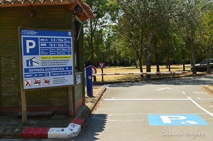 aparcar en aiguamolls emporda